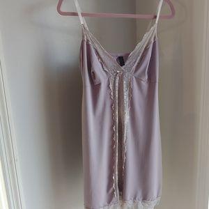 Nightgown/Slip violet color